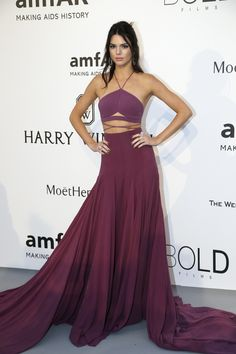 Kendall Jenner at the amfAR Gala