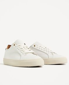 ZARA - MAN - WHITE RETRO SNEAKERS