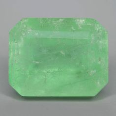 12.48CTS SHINY GREEN NATURAL RARE COLOMBIAN EMERALD LOOSE GEMSTONE in Jewelry & Watches | eBay