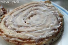 cinnamon roll pancakes - oh my :)