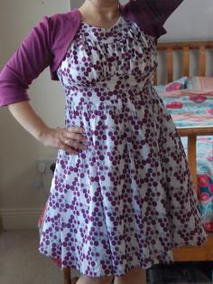 Colette Chantilly by bred2make, via Flickr: Love, must make!  $18 pattern from Colette Patterns
