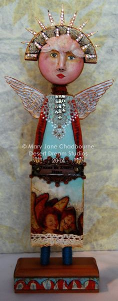 """""""There Be Angels Here"""" by MJ Chadbourne, Desert Dream Studios 2014"""