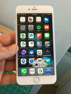 Apple iPhone 6 Plus - 64GB - Silver (Verizon) Smartphone #Apple