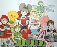 Paper dollies!