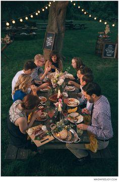 Madison Kinfolk Foodie Wedding Gathering