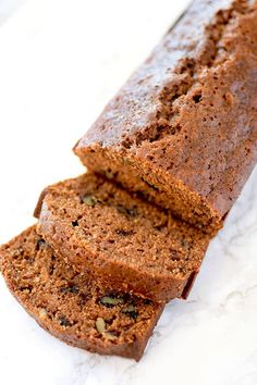 Sweet potato bread is a classic Southern quick bread and perfect for autumn. The fall spices will warm you up on the crisp days leading up to Thanksgiving. Easy Sweet Potato Bread Recipe, Pecan Bread Recipe, Sweet Potato Pecan, Mashed Sweet Potatoes, Sweet Potato Recipes, Sweet Bread, Kosher Bread Recipe, Sweet Potato Squash Recipe, Bread Recipes