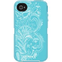 Paisley  Floral iPhone 4/4S Cases | OtterBox.com. Love otter box. They have a USA flag one that is way cool