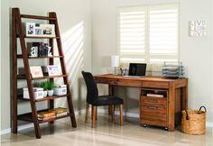 Silverwood Desk | Super Amart