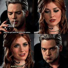 A cara de quem falou merda Lol When u realize messed u so freaking bad. Shadowhunters Series, Shadowhunters The Mortal Instruments, Mortal Instruments Quotes, Shadow Hunters Cast, Clary Et Jace, Constantin Film, Immortal Instruments, Lol, Cassandra Clare Books