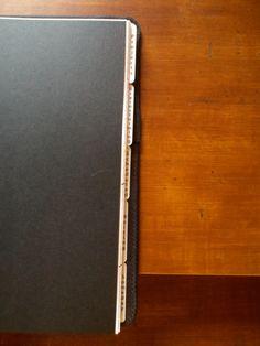 Custom GTD notebook - Laminated Tabs #GTD
