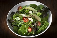 Curtis Stone's Baja Salad: Enjoy this salad as is, or add protein for a more filling meal. Vegetarian Recipes, Healthy Recipes, Skinny Recipes, Healthy Salads, Healthy Foods, Curtis Stone Recipes, Vegetable Salad, Veggie Pasta, Vegetable Recipes