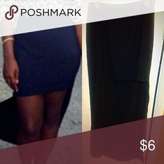 Women's Black High and Low Black Maxi Skirt Sz M pre-owned forever 21 black high and low maxi skirt size medium in great condition. Fits true to size.  Order today ship today Forever 21 Skirts High Low