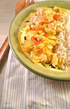 Mexicaanse ovenschotel met kip, paprika en courgette - Lekker en Simpel