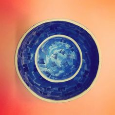 Creating magic in the studio  ____________________________ #urban_pottery #slowmade  #magic #contemporarycraft #handmade #painting#pottery #mondaymorning #ceramicartist #functionalceramics  #instapottery #colors #blueisthecolor #royalblue #pinchpot #tableware #potterylove #potteryforall #CREmerging