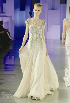 Basil Soda 2011 couture Spring/Summer collection - wedding dress inspiration from the runway