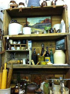 Wasatch primitive Fall Booth at Treasures Antique Mall Springville Ut