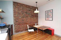 Built in dining table - Fishtown, Philadelphia