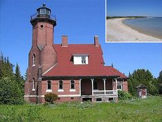Lighthouse turned private home, on it's own private Island in Beaver Island, MI   Price: $3,200,000