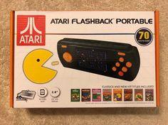 Atari Flashback Portable Deluxe built-in 70 Games SD Card slot Especial Edition #AtGames
