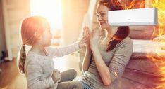 luft-til-luft-varmepumpe fra General er utviklet for norske forhold Om, Iphone