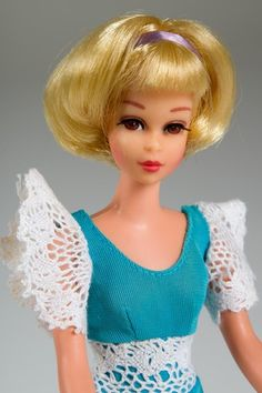 1969 Hair Happenin's Francie 1102 w Original Outfit Friend of Barbie