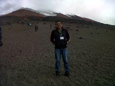 Volcán Cotopaxi  Primer Congreso Nacional de Desarrollo e Impacto del Turismo.