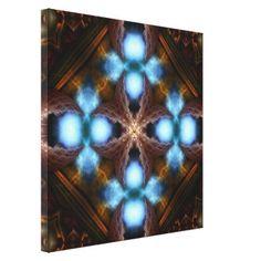 Brimitin Pool Of Light Stretched Canvas Print $277.95