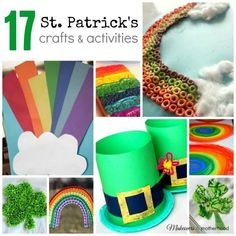 St. Patrick's Crafts & Activities   Makeovers and Motherhood