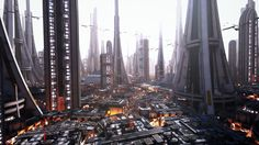 Skyscrapers and Godrays by AlxFX on DeviantArt Cyberpunk City, Futuristic City, Sci Fi City, Concept Architecture, Futuristic Architecture, City Aesthetic, Science Fiction Art, Fantasy Landscape, Imagines