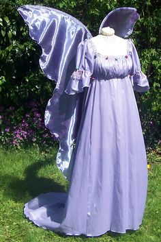 Huge Moonbeam TEAL BLUE GREEN Fairy Wings Costume adult xl dress up goddess wicca angel gypsy steampunk wedding renaissance Halloween. $70.00, via Etsy. I love this dress but not the wings...