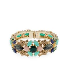 trading out our statement necklace for a statement bracelet