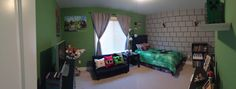 Ashton's Minecraft Room!