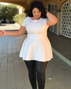 Big girl fashion, curvy women fashion, plus size fashion for women, plus fashion Curvy Outfits, Plus Size Outfits, Fashion Outfits, Fashion Ideas, Style Working Girl, Curvy Women Fashion, Womens Fashion, Cheap Fashion, Ladies Fashion