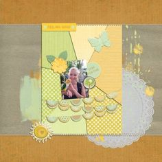 Happy Day At Free Flight Sanctuary part1. This digital scrapbooking page was created using Sunshine & Lemons Bundle at Pixel Scrapper
