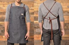 Iron & Resin Denim Shop Apron