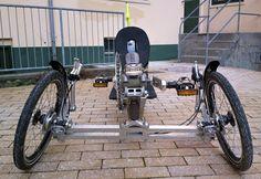 Aluminium tilting and camber wheeled trike - BentRider Online Forums
