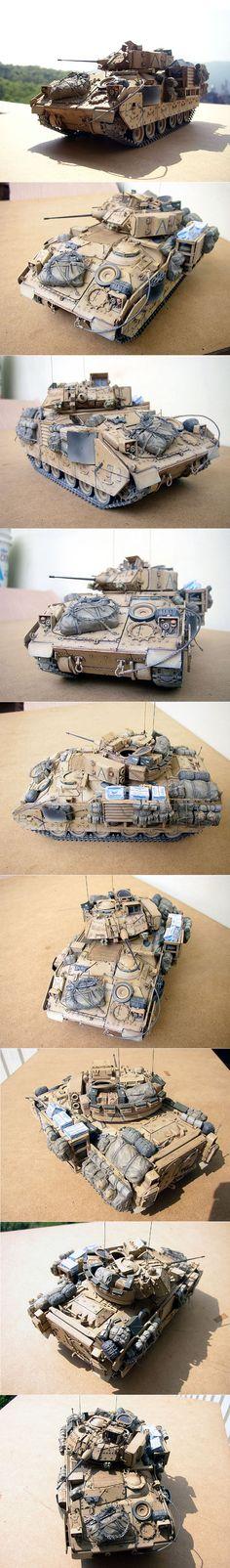 M2A2 1/35 Scale Model