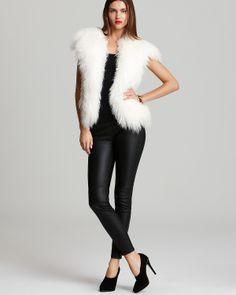 MICHAEL Michael Kors Fur Vest | Bloomingdale's