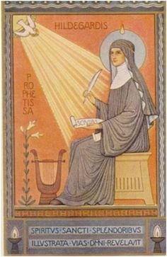 St. Hildegard of Bingen, doctor of the church.