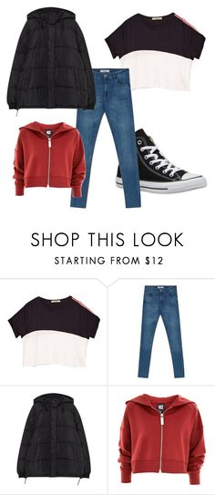 """""""outfit"""" by imnotwhatyouwant on Polyvore featuring moda, Converse, Topshop e Pullandbear"""