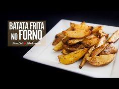 Receita de batatas fritas sem óleo
