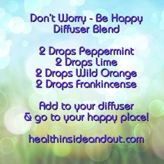 I love this cheerful blend. Diffuse and go to your happy place.   https://m.facebook.com/texashealthinsideout
