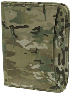 Multicam Zippered Padfolio | Military Bags | Military Luggage