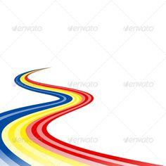 Blue yellow red ... abstract, andorra, avenue, banner, blue, boulevard, chad, course, curve, curved, drive, dynamic, flag, highway, history, icon, lane, line, moldavian, moldova, motion, path, red, romania, romanian, route, speed, street, symbol, track, trail, twist, twisted, vector, way, yellow