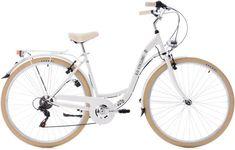 Ks Cycling Fiets 28 inch damesfiets Casino met  derailleur voor 6 versnellingen wit - 48 cm