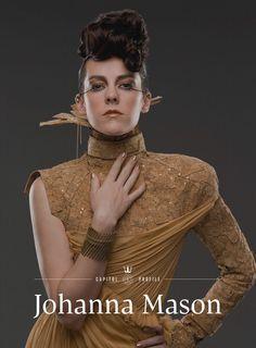 Jena Malone as Johanna Mason in 'Catching Fire'