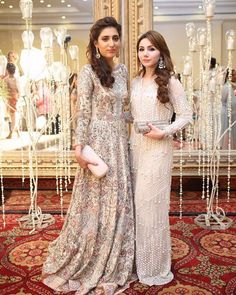 Our very own Nazish Sameer rocks this stunning #AliXeeshan outfit with the beautiful Aleena Azam in #Farazmanan at a wedding last night✨ @nazishsameer @aleenajazam @alixeeshantheaterstudio @farazmanan