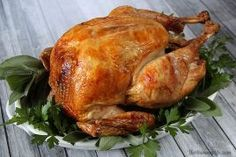 The Best Roast Turkey - perfectly cooked and moist