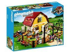 Jeu de construction PLAYMOBIL (2013)  5222 - Ranch avec poneys