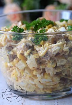 Polish Recipes, Baked Chicken Recipes, Healthy Salad Recipes, Kraut, Potato Salad, Food And Drink, Easy Meals, Cooking Recipes, Vegetables